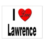 I Love Lawrence Small Poster