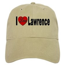 I Love Lawrence Baseball Cap