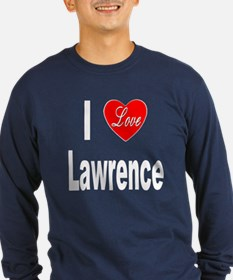 I Love Lawrence (Front) T