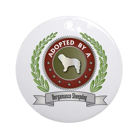 Bergamasco Adopted Ornament (Round)