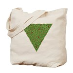 Arboreal Triangle Knot Tote Bag