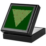 Arboreal Triangle Knot Keepsake Box