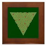 Arboreal Triangle Knot Framed Tile