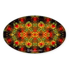 Fractal Julian Gems Kaleidoscope 2 Decal