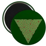 "Arboreal Triangle Knot 2.25"" Magnet (10 pack)"