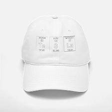 Tesla Element Symbols 2 Baseball Baseball Cap