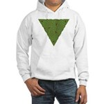 Arboreal Triangle Knot Hooded Sweatshirt
