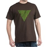 Arboreal Triangle Knot Dark T-Shirt