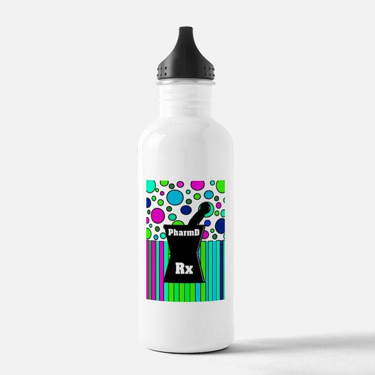 pharmD necklace 4 Water Bottle