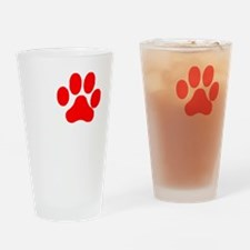 I Paw Heavy Petting 2 Drinking Glass