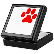I Paw Heavy Petting 2 Keepsake Box