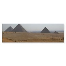 Pyramids at Giza Coffee Mug Bumper Sticker
