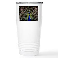 Peacock bird Travel Mug