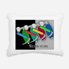 Respiratory Blanket 1 Rectangular Canvas Pillow