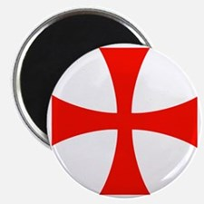 Templar Red Cross Magnet