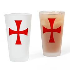 Templar Red Cross Drinking Glass