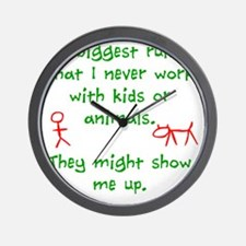 Kids or animals Wall Clock