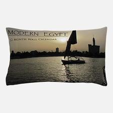 Modern Egypt Calendar Pillow Case