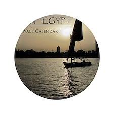 """Modern Egypt Calendar 3.5"""" Button"""