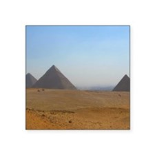 "Pyramids at Giza Ipad2 Cove Square Sticker 3"" x 3"""