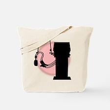 vent pink glow Tote Bag