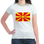 Macedonia Ringer T-shirt