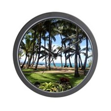 Maui Serenity (Wall Calendar - January) Wall Clock