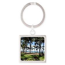 Maui Serenity (Wall Calendar - Jan Square Keychain