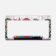 The Three Kings License Plate Holder
