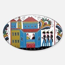 The Three Kings Sticker (Oval)