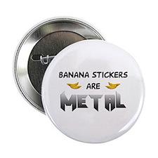Banana Stickers Button