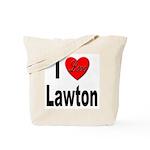 I Love Lawton Tote Bag