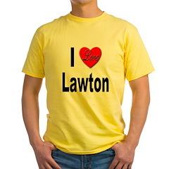 I Love Lawton (Front) T