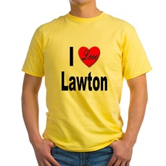 I Love Lawton (Front) T