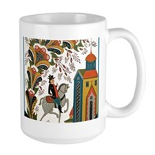 Horseman riding by Mug