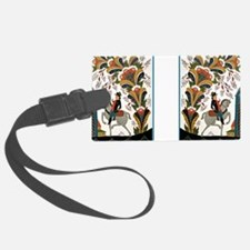 Horseman riding by Luggage Tag