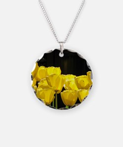 Yellow Tulips Necklace