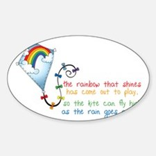 Rainbow Shines Decal