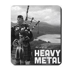 Heavy Metal Bagpipes Mousepad