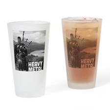 Heavy Metal Bagpipes Drinking Glass