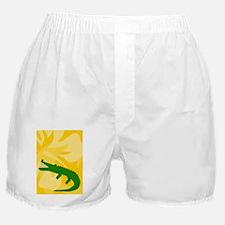 Alligator 84 Curtains Boxer Shorts