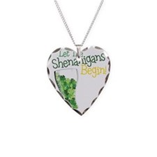 Shenanigans Necklace Heart Charm