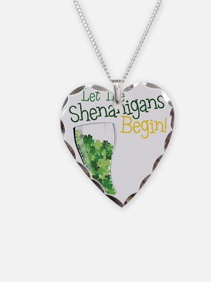 Shenanigans Necklace Heart Charm