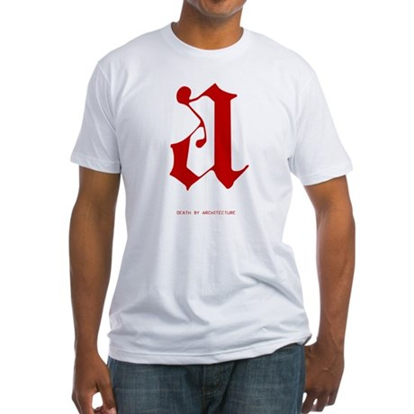 Scarlet Letter Fitted T-Shirt