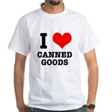 I Heart (Love) Canned Goods Shirt