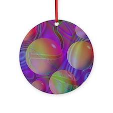 Inner Flow V Round Ornament