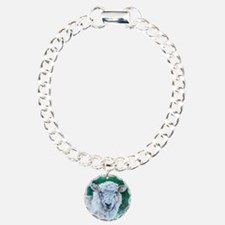 Sheep Merino New Zealand Charm Bracelet, One Charm