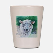 Sheep Merino New Zealand Shot Glass