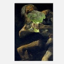 Saturn Devouring His Broc Postcards (Package of 8)