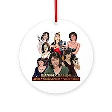 Leanna Chamish Round Ornament